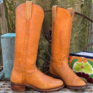 FRYE True Vintage Black Label Tall Boots 8